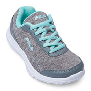 Fila® Lite Spring Heather Girls Running Shoes - Little Kids/Big Kids