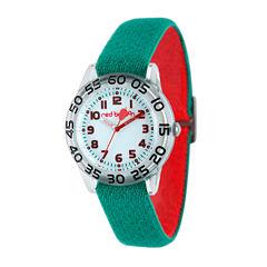 Red Balloon™ Kids Green Nylon Strap Watch