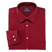 Stafford® Travel Long-Sleeve Easy Care Broadcloth Dress Shirt