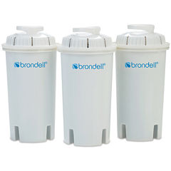 Brondell H2O+ 3-pk. Water Pitcher Filter