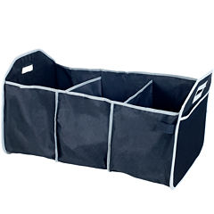 Stalwart™ 3-Bin Car Trunk Organizer with Cold Storage Bag