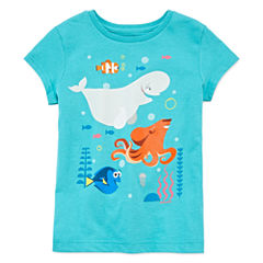 Disney Collection Short-Sleeve Dory Graphic Tee - Girls