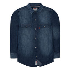 Levi's Freeform Long Sleeve Button-Front Shirt Boys