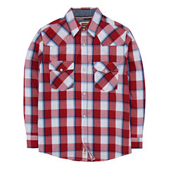 Levi's Freeform Long Sleeve Button-Front Shirt Boys