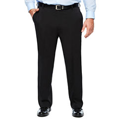 Van Heusen Traveler Stretch Flat Front Dress Pants-Big and Tall