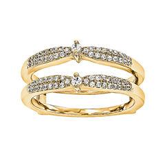 1/5 CT. T.W. Diamond 14K Yellow Gold Rng Guard