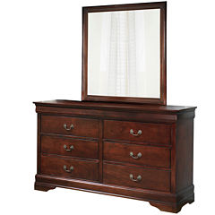 Signature Design by Ashley® Rudolph Dresser and Mirror Set