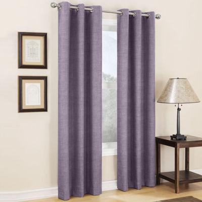 sun zero mirage grommettop curtain panel