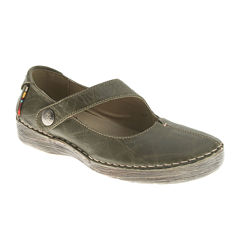 Spring Step Debutante Leather Mary Janes
