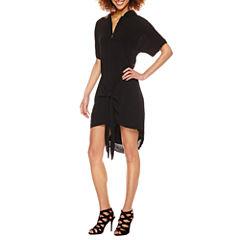 Roxberi Short Sleeve Shirt Dress