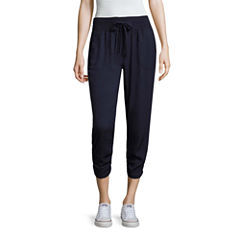 Rewash Cropped Pants-Juniors