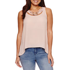 Bold Elements Layered Neck Lace Top