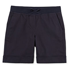 IZOD® Pull-On Stretch Twill Shorts - Girls 7-16 and Plus