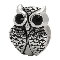 Forever Moments™ Crystal Owl Charm Bracelet Bead