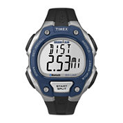 Timex® Ironman Classic 50 Move+ Mens Blue Bezel Digital Watch TW5K86600F5