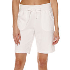 Made For Life Knit Bermuda Shorts-Talls