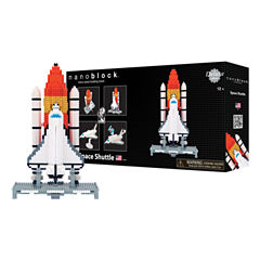 Ohio Art nanoblock® Deluxe Edition Level 6 - Space Shuttle: 1600 Pcs