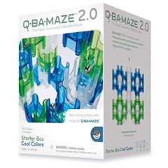 MindWare Q-BA-MAZE 2.0 Starter Box - Cool Colors:50 Pcs
