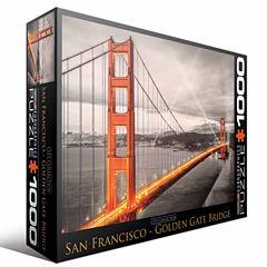 Eurographics Inc City Collection - San Francisco -Golden Gate Bridge: 1000 Pcs