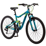 Mongoose Womens Full Suspension Mountain Bike