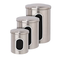 Honey-Can-Do 3-pc. Canister