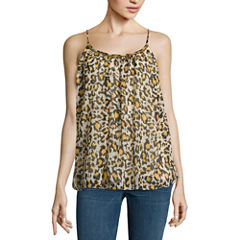 a.n.a Sleeveless Printed Blouse