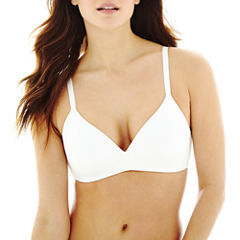 Ambrielle® Cotton-Blend Wirefree Bra