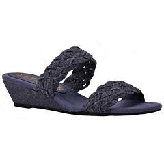 New York Transit Advanced Idea Womens Slide Sandals