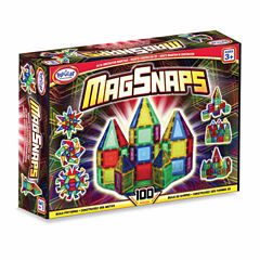 Popular Playthings MagSnaps 100 Piece Set