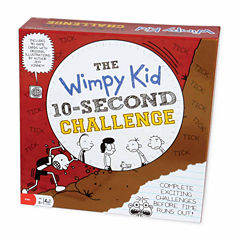 Pressman Toy Diary of a Wimpy Kid 10-Second Challenge Game