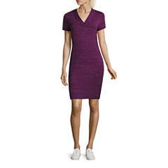 Made For Life Short Sleeve Sheath Dress