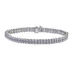 4 CT. T.W. Diamond 14k White Gold Bracelet