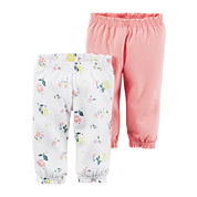 Carter's® 2-pk. Pants - Baby Girls newborn-24m