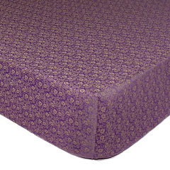 The Peanut Shell® Dahlia Crib Fitted Sheet