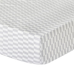 The Peanut Shell® Mosaic Fitted Crib Sheet