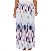 a.n.a® Wide-Waistband Maxi Skirt - Plus