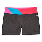 Xersion Pull-On Yoga Shorts - Girls 7-16 and Plus