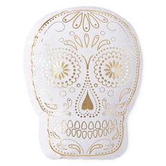 Home Expressions Sugar Skull Decorative Pillow