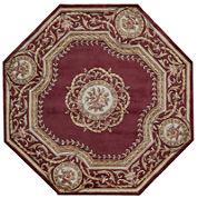 Momeni® Atlantis Hand-Carved Wool Octagonal Rug