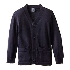 U.S. Polo Assn.® V-Neck Cardigan Sweater- Boys 8-16