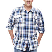 Monte Long-Sleeve Plaid Woven Shirt - Big & Tall