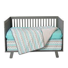 Trend Lab® Seashore Waves 3-pc. Crib Bedding Set