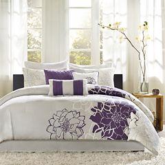 Madison Park Bridgette Floral Comforter Set