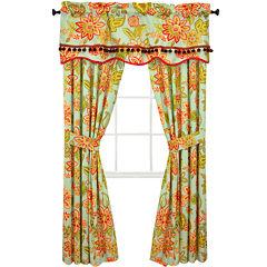 Waverly® Charismatic Honeysuckle 2-Pack Curtain Panels