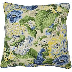 Waverly® Floral Flourish Square  Decorative Pillow