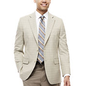 Stafford® Travel Year Round Plaid Sport Coat - Classic-Fit