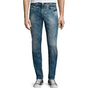 JF J. Ferrar® Slim-Fit Crackle Jeans