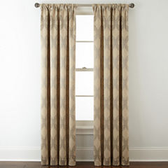 Royal Velvet® Allure Room-Darkening Rod-Pocket/Back-Tab Curtain Panel