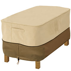 Classic Accessories® Veranda Large Rectangular Ottoman/Side Table Cover