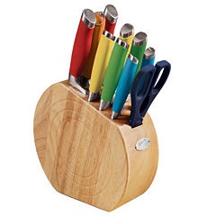Fiesta® 11-pc. Multicolor Oak Cutlery Set